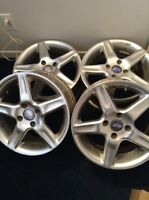 "15"" 4 bolt pattern luff alum rims"