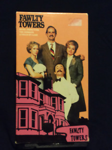 Fawlty Towers VHS Tape