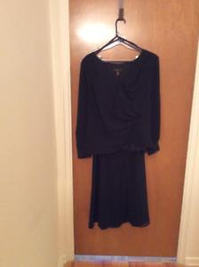 Black 2 piece dress