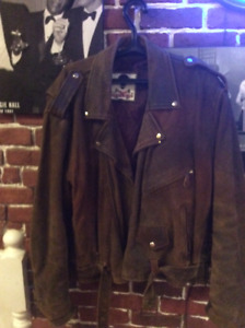 LEATHER BIKERS JACKET