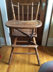 Bass River style vintage high chair