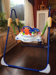 Baby Jumperoo Exerciser with stand