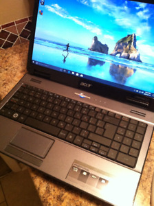 "ACER ASPIRE WIN10 LAPTOP - 15.6"" LED SCREEN."