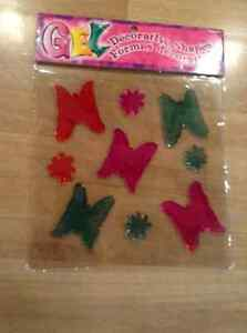 NEW GEL DECORATING BUTTERFLY SHAPES