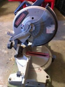 """10"""" craftsman mitre saw for sale great for hobby or deck work"""