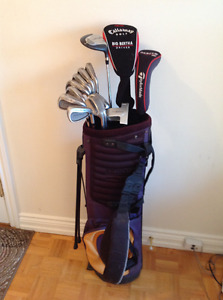 Mens Golf - Full Set - 14 Clubs - Taylor Made Irons + driver +++
