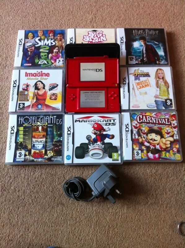 nintendo ds lite mario kart sims 2 harry potter 5 more games in norwich norfolk gumtree. Black Bedroom Furniture Sets. Home Design Ideas