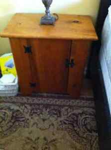 Two pine reproduction tables - nightstands or end tables Kawartha Lakes Peterborough Area image 1