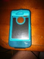 Green/ turquoise OtterBox for iPhone 4/4s