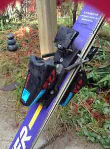 58 inch downhill skis and bindings