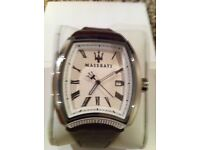 Men's Maserati calandra watch