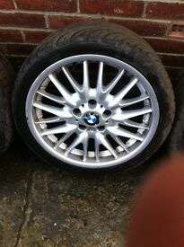 "BMW 18"" mv1 alloys(genuine)"