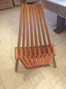 Handmade wooden chair Stratford Kitchener Area image 1