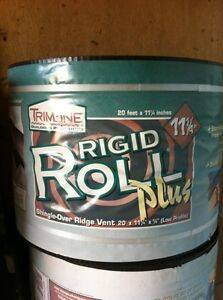 Rigid Ridge Vent For Sale- Only 10 Rolls left!