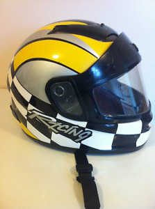 Helmet--full face motorcycle or snowmobile