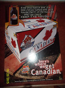 Molson Canadian Beer signs