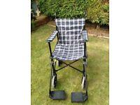 Folding Lightweight Transit Wheelchair