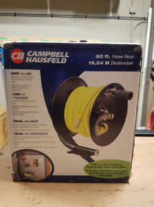 Campbell Hausfeld Air Hose and Reel (NEW and UNOPENED)