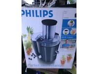 Brand new Philips Juicer.
