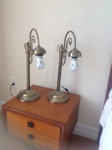 Lamps - 2 Attractive lamps for use in Bedroom or other places
