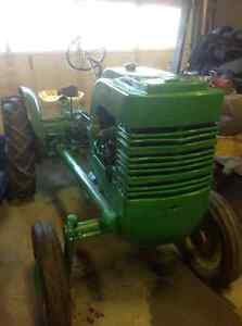 Rare John Deere L tractor two cylinder