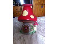 Fairies mushroom home