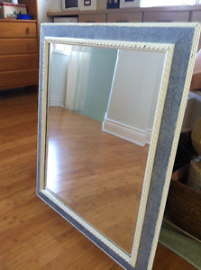 Lovely mirror, bevelled glass, from $75 to $60, best offer