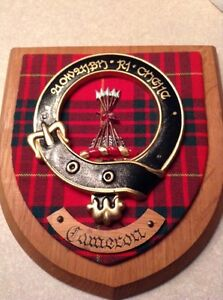 Cameron Scottish Crest-Badge