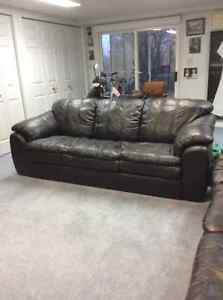 Leather Sofa in Mint Condition
