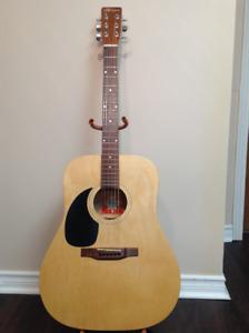 Left Handed Norman B20  Acoustic Guitar