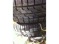 Corsa steel wheels 3 x 175-65-14 great tread