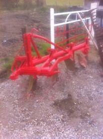 4 furrow plough