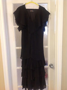 Womens black cocktail/party dress