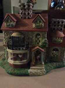Partylite tealight candle holder house