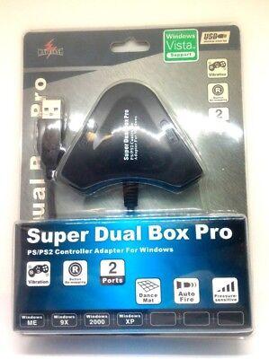 Mayflash Súper Doble Caja Pro PS2 Mando A PC USB Convertidor Adaptador...
