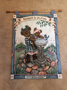 Boyds Bears Tapestry