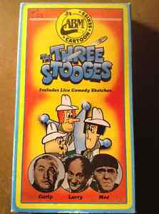 The three stooges ABM cartoon series VHS extremely Rare !!