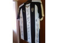 Notts County Signed Football Shirt