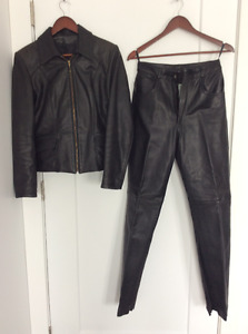 Women's bike jacket and pant/boots