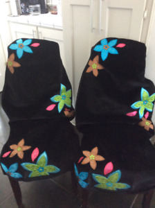 PAIR OF VEHICLE SEAT COVER CAR BUCKET SEATCOVERS