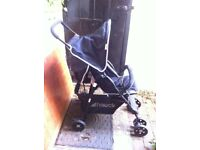 HAUCK Buggy/pushchair compact large basket