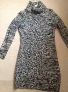 Sweater dress and other items