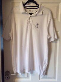 Mens golf polo shirt