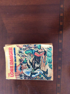 Lone Ranger Outwits Crazy Cougar #5774 softcover