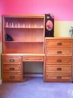 Shermag Solid Maple bedroom set 4 pce