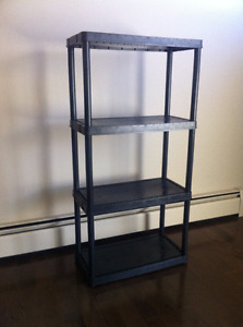 4-Shelf Resin Rack
