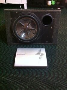12 inch sub woofer and amp