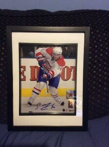 Montreal Canadiens Sergei Kostytsn signed and framed photo