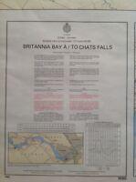 Marine chart Britannia Bay to Chats Falls