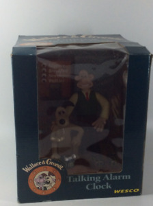 Highly Collectible Wallace & Gromit Talking Alarm Clock